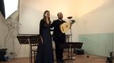 Echi lontani 2013, Cagliari, 21.03.2013-Sala Sapori di Sardegna, Concert-Nora Tabbush and Michele Carreca 3