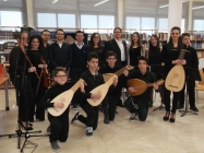 Picture students conservatoire Trapani, IT